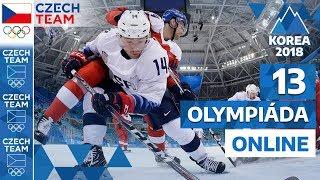HOKEJOVÉ ŠÍLENSTVÍ! ČR opět ovládl hokej | Olympiáda online