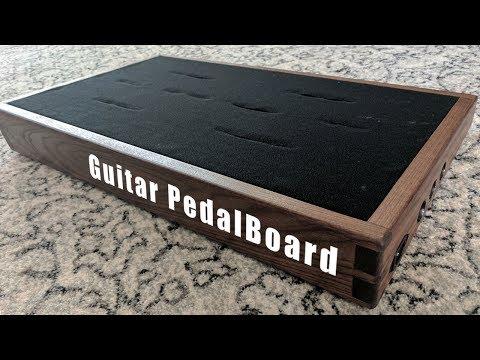 D.I.Y. Walnut Pedalboard - Build Video