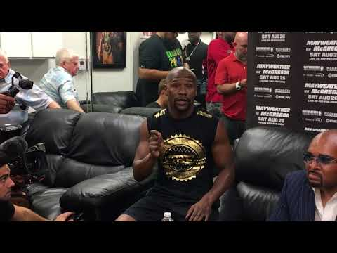 Mayweather Explains His Desire For 8-Ounce Gloves In McGregor Fight | ESPN