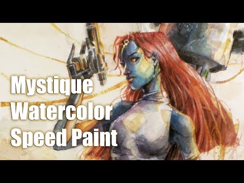 Dynamic Watercolor - Mystique - Speedpaint