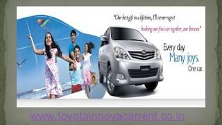 Toyota Innova Car on Rent, Doorstep Innova Car Hire in Delhi