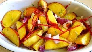 Peach Lime & Chili Salad Recipe