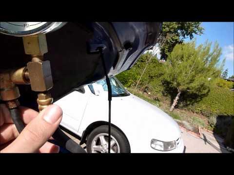 fuel pressure gauge hook up