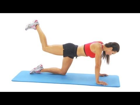 Hip exercise - extension on all fours