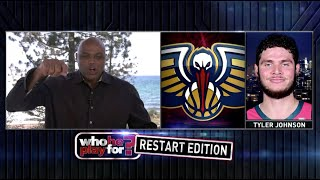 "Chuck Tries His Best On ""Who He Play For?"" NBA Restart Edition"