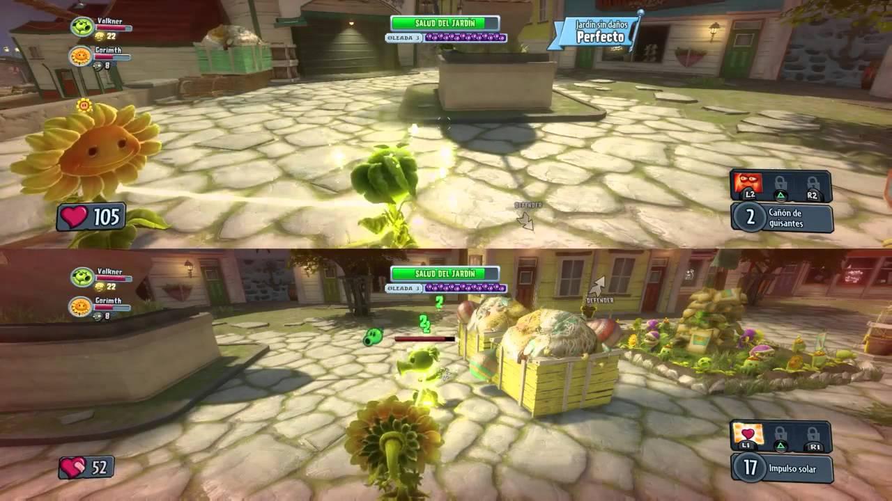 Plantas Vs Zombies Garden Warfare Ps4 Coop Offline