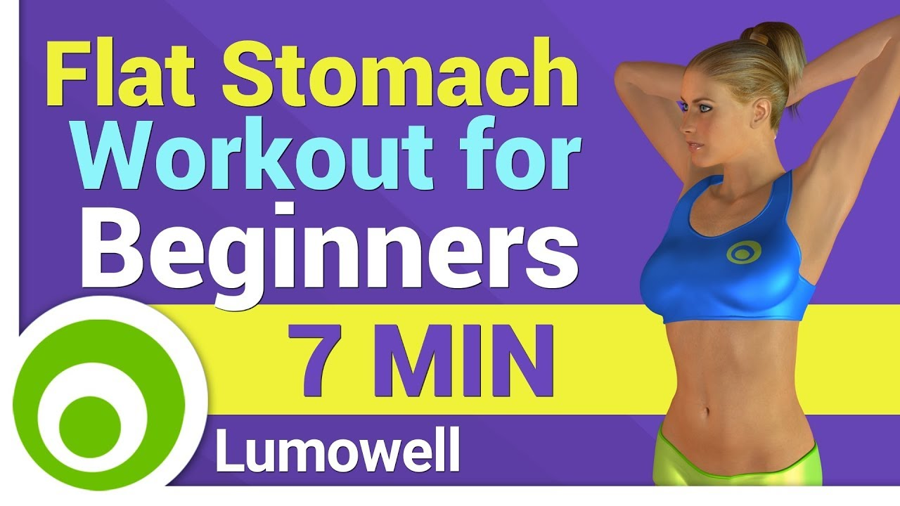 Flat Stomach Workout for Beginners - YouTube