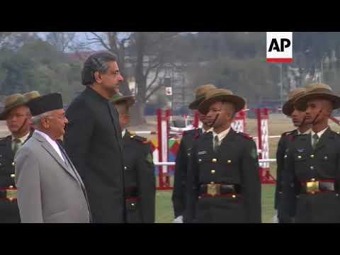 Pakistan's prime minister visits Nepal