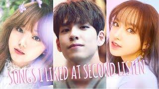 ✦k-pop songs I liked at second listen✦