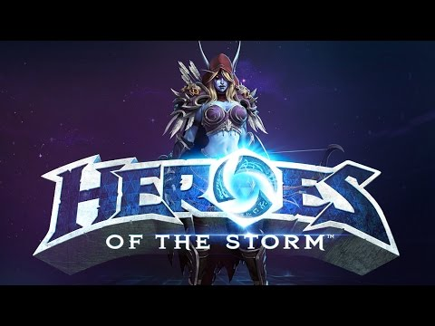 Sylvanas está muy OP  |HEROES OF THE STORM| April Fools' Day