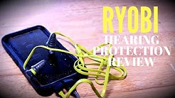 Ryobi Noise Suppressing Earphones With Microphone Review