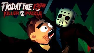 Friday the 13th: Killer Puzzle - Blue Wizard Digital LP Level 1-5 Walkthrough
