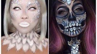 Топ 10 Легких DIY макияжей на Хэллоуин |Halloween DIY Makeup