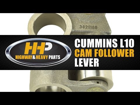 Diesel Engine Cam Lever Follower, Cummins L10, Highway And Heavy Parts
