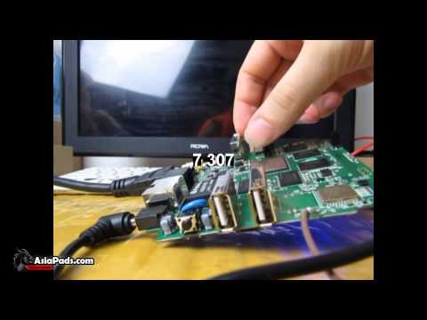 Rockchip RK3288 Motherboard Booting fast Android 4 4 KitKat - YouTube