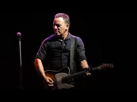 Bruce Springsteen  Downbound Train   Pro  2014