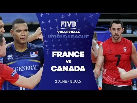 France v Canada highlights - FIVB World League