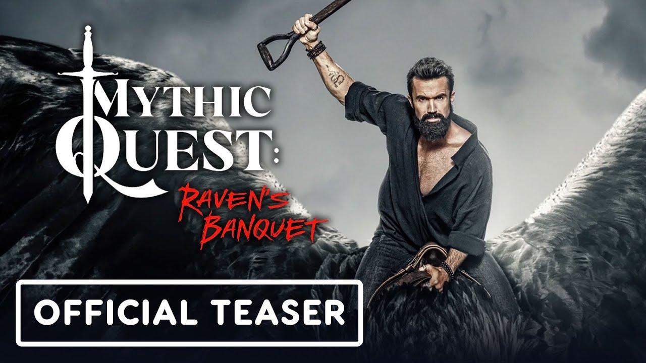 "Mythic Quest Raven's Banquet - Trailer oficial de ""Cuarentena"" (Rob McElhenney, Danny Pudi) + vídeo"