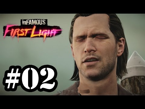 Let's Play: Infamous First Light - Parte 2