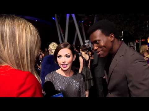 Amadou Ly & Janelle Froehlich At 'Breaking Dawn Part 1' World Premiere