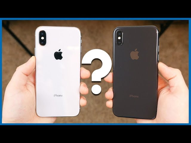 more photos 9aa91 109c1 Silver or Space Gray: Which iPhone X Should You Buy? - YouTube