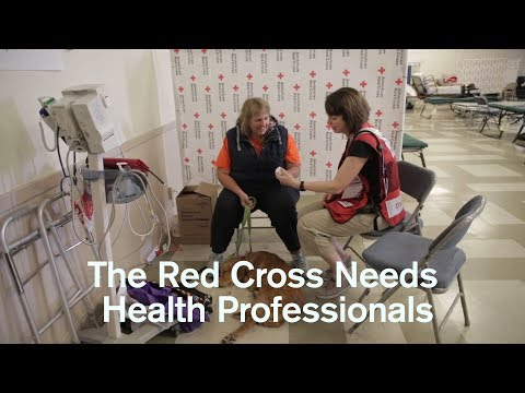 The Red Cross Needs Health Professionals