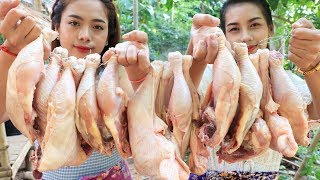 Yummy cooking chicken legs with salt recipe - Cooking skill