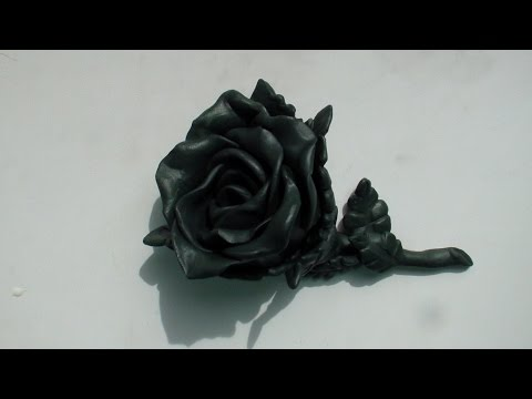 цветы из пластилина своими руками