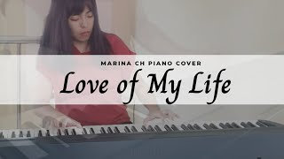 Love of My Life - Queen | Piano cover by Marina Ch