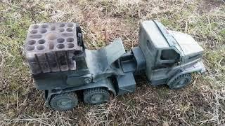 Фейерверк на базе Урал NEXT из пластилина, с новым годом
