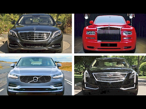 TOP 20 Luxury Sedan Cars 2017 [YOUCAR]