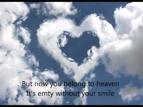Now you belong to heaven lyricsMari Olsen