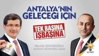 Antalya'nın geleceği için...