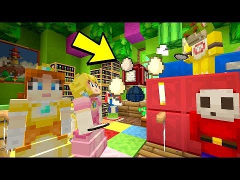 Bowser Jrs Basitter! EGG FIGHT!  Nintendo Fun House  Minecraft Switch 242