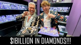 $1BILLION IN DIAMONDS AND JEWELS!!!