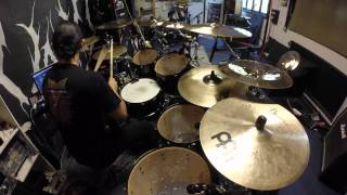 Jocke Wallgren - Gamma Ray - Somewhere Out In Space Drum Cover