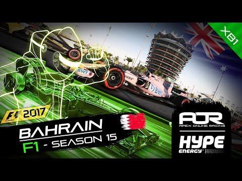 F1 2017 | AOR Hype Energy F1 Leagues | XB1 Oceania S2 | R4: Bahrain GP