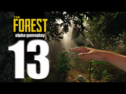 Let's Play The Forest (alpha) - EP13 - Base Building! thumbnail