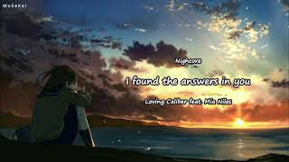 (Lagu cinta barat) I Found The Answer in You - Loving Caliber feat. Mia Niles (Lirik & Terjemahan)