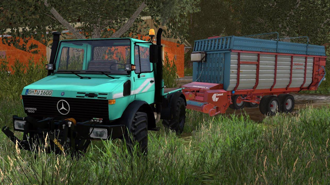 Farming  Mods Mercedes Unimog