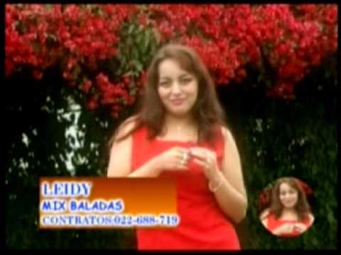 LEIDY MACAS- MIX BALADAS