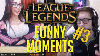 Bjergsen said : Pokimane is cute AF! / Gosu outplay / Crown /  [League of Legends funny moments #3]