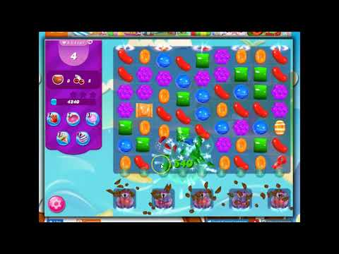 Candy Crush Level 1161 Talkthrough, 14 Moves 0 Boosters