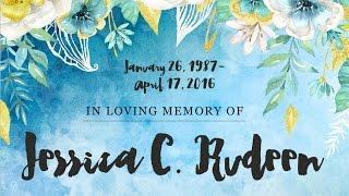 Jessica C. Rudeen, 1987 - 2016