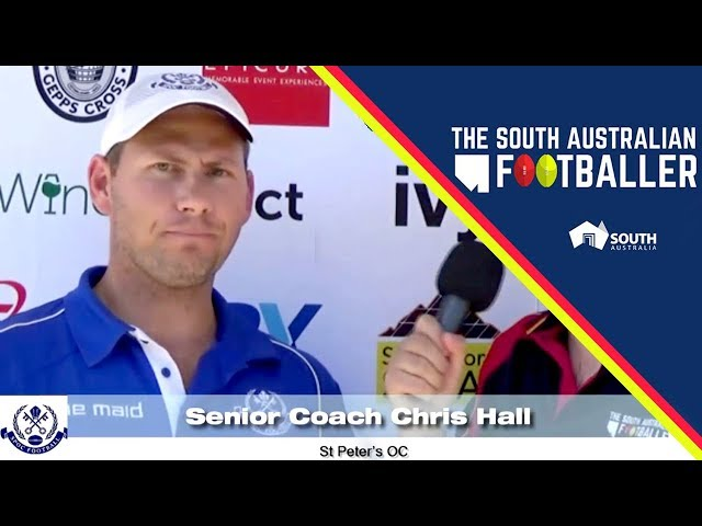 SA Adelaide Footballer 4: Div 2 Weekly Wrap with St Peter's OC Senior Coach, Chris Hall