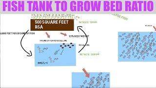 Fish Tank To Grow Bed Ratio | Ask The Aquaponics God Ep11