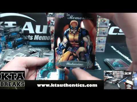 KTAuthentics - 2015 UD marvel Vibranium 4 hobby box break - DJKB
