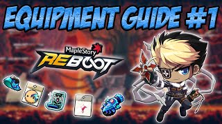 Maplestory Reboot: Equipment Guide #1