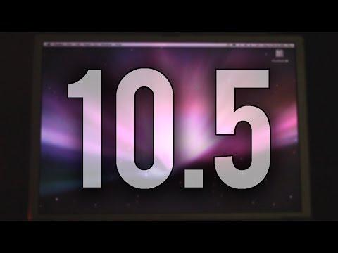 Installing Mac OS X 10.5 On A PowerBook G4