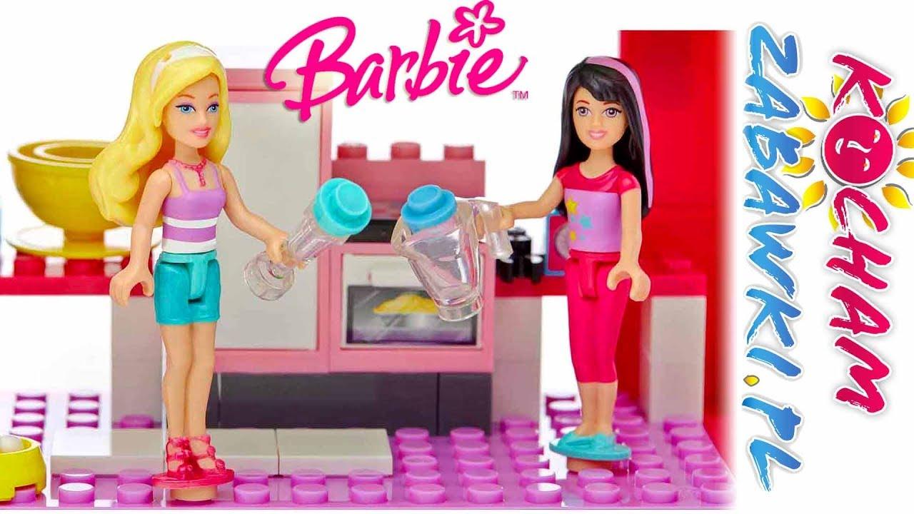 Barbie Mega Bloks • Willa nad morzem • Grill z przyjaciółką • bajki po polsku